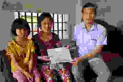 """Bạn đọc Dân trí giúp đỡ chị Thơm mắc """"bệnh hiểm"""" 35 triệu đồng"""