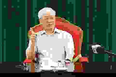 Video Tổng Bí thư Nguyễn Phú Trọng phát biểu kết luận cuộc họp lãnh đạo chủ chốt