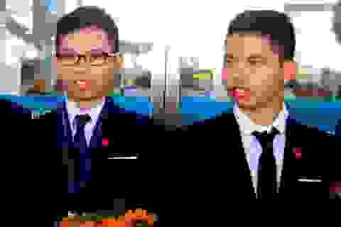 Cặp song sinh đến từ trường làng chinh phục thành công Olympic Vật lý Châu Á