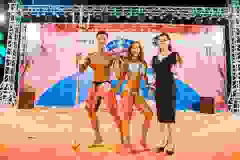 Bất chấp giông bão, khán giả Nha Trang vẫn hết mình với chung kết thể hình