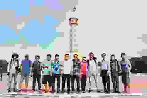Chiêm ngưỡng cột cờ Hà Nội ở đất Mũi Cà Mau