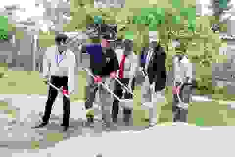 Chương trình đối tác Thái Bình Dương hỗ trợ xây trường học ở Phú Yên