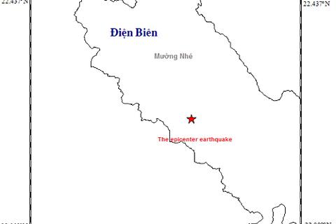 Động đất 3,2 độ richter tại Điện Biên