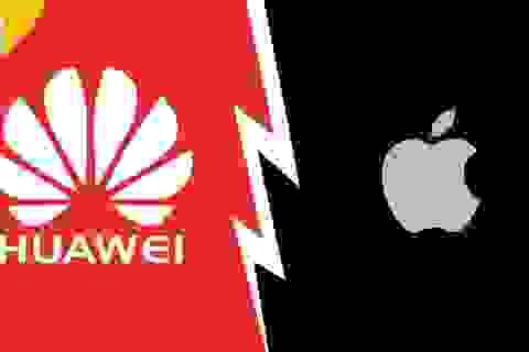 """Huawei và Apple """"dính đòn"""" vì cuộc chiến thương mại Mỹ - Trung"""