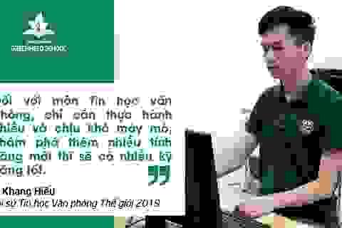 Từ cậu học sinh nhút nhát trở thành Đại sứ Tin học văn phòng thế giới 2019