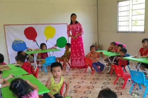 """Thêm một điểm trường """"Vì trẻ em vùng cao"""" tại huyện miền núi Quan Sơn"""