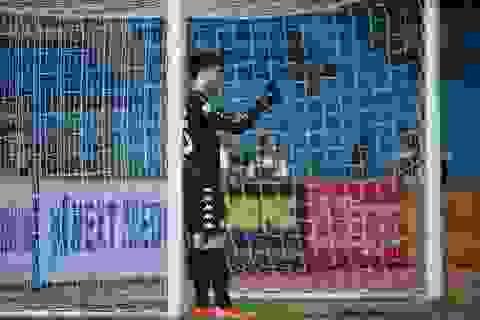Thủ môn Bùi Tiến Dũng không chắc suất chính thức ở U23 Việt Nam