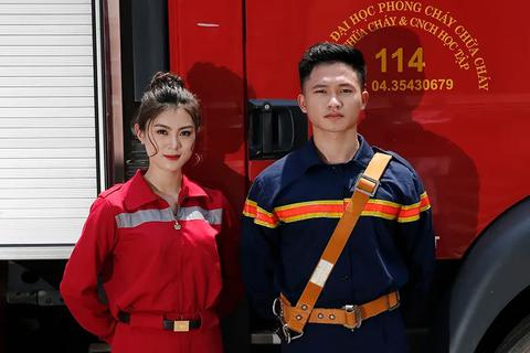 Ngắm nhìn 10 cặp đôi đẹp nhất trường Phòng cháy chữa cháy 2019