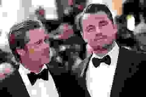 Brad Pitt lịch lãm bên Leonardo DiCaprio
