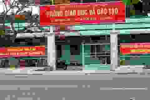 Kê khống giấy thi, Trưởng phòng Giáo dục bị kỷ luật cảnh cáo