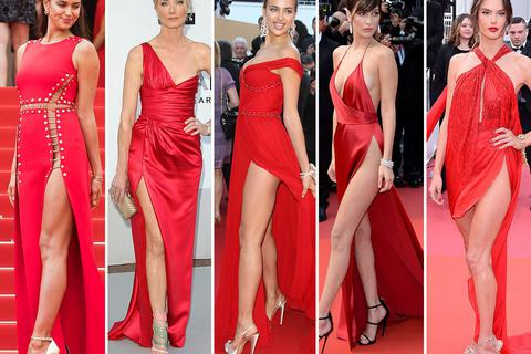 Vì sao màu đỏ được ưa chuộng trên thảm đỏ Cannes?
