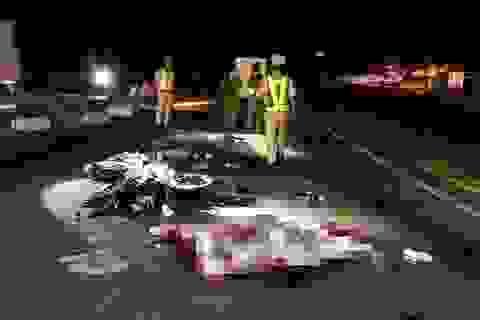 12 tiếng xảy ra 3 vụ TNGT liên tiếp, 4 người thiệt mạng