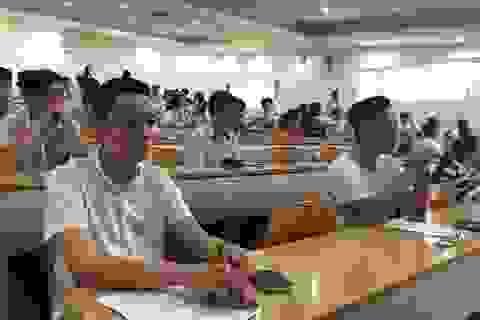 Gần 4.000 thí sinh thi kiểm tra năng lực vào trường ĐH Quốc tế