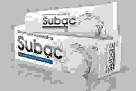 Công dụng của gel làm sạch và sát khuẩn da Subạc