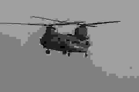 Trực thăng quân sự Mỹ tan tành khi hạ cánh ở Afghanistan