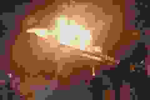 Hà Nội: Quán bia Hải Xồm trên đường Hoàng Quốc Việt cháy dữ dội