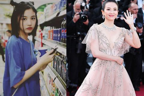 Con gái riêng của chồng Chương Tử Di xinh đẹp xuất sắc ở tuổi 14