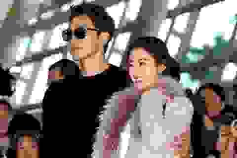 """Kim Tae Hee """"vác bụng bầu"""" theo chồng đi công tác bên Mỹ"""