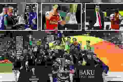 """Những khoảnh khắc Chelsea """"vùi dập"""" Arsenal để lên ngôi vô địch Europa League"""