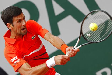 Roland Garros 2019: Djokovic tiếp tục phong độ thăng hoa