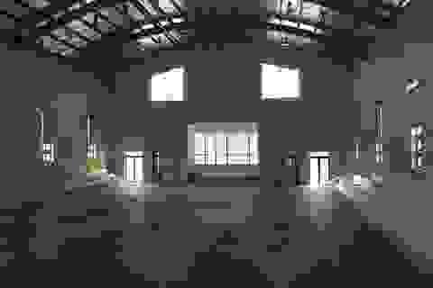 Quảng Bình: Nhà đa chức năng trường THCS chưa bàn giao đã nứt toác!
