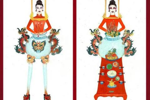 """Thêm nhiều ý kiến khác nhau về thiết kế trang phục """"Bàn thờ"""""""