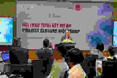 6,2 triệu EUR từ Bỉ hỗ trợ giáo dục Việt Nam đã kết thúc