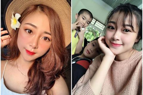 """Cô giáo mầm non tương lai xứ Nghệ bỗng """"nổi như cồn"""" vì xinh đẹp"""