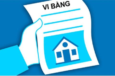 Cảnh báo dùng vi bằng để lừa bán nhà đất