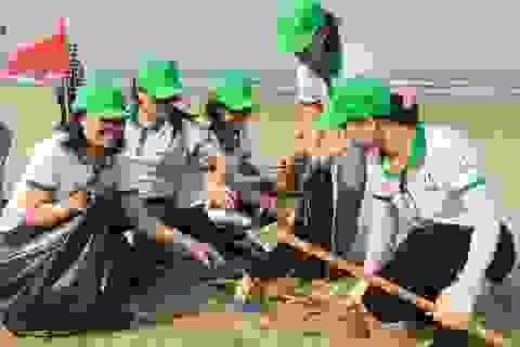 Chiến dịch làm sạch biển quy mô lớn dự kiến thu hút 100.000 người tham gia