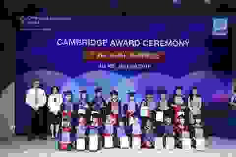 Vinh danh học viên đạt chứng chỉ Cambridge Apollo English khẳng định chất lượng đào tạo vượt trội