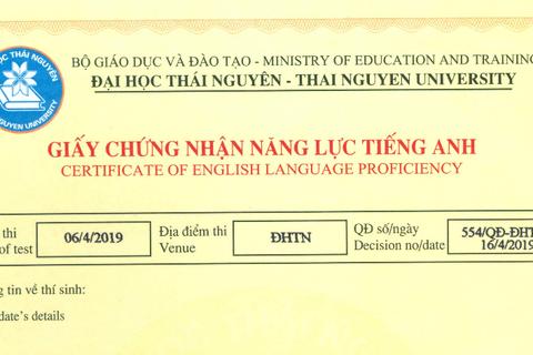 ĐH Thái Nguyên hoãn tổ chức thi đánh giá năng lực tiếng Anh vì tin đồn tiêu cực