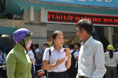 Quảng Ngãi: Trên 12.600 thí sinh hoàn thành bài thi môn Văn