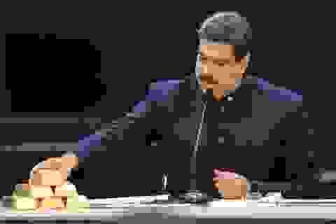 Venezuela bị tịch thu 20 tấn vàng giữa lúc khủng hoảng