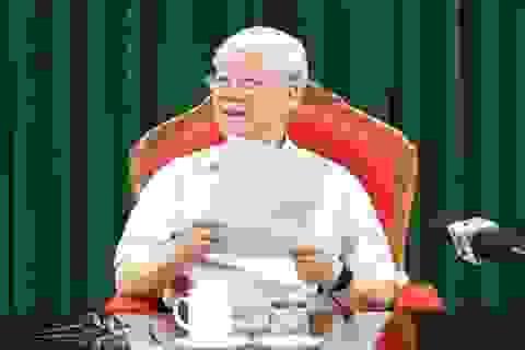 Tổng Bí thư: Không để những người chạy chức lọt vào cấp ủy khóa mới