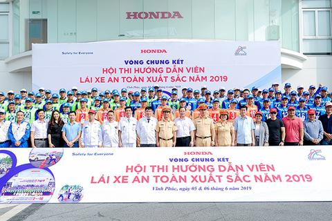 Honda đẩy mạnh công tác hướng dẫn lái xe an toàn