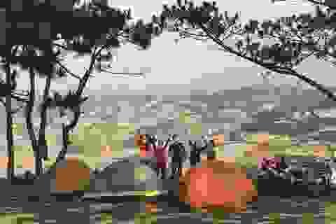 """Đến Đà Lạt thử trải nghiệm cắm trại, săn mây """"đẹp quên lối về"""""""