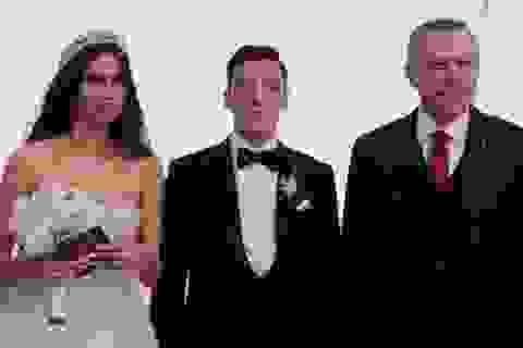 Tổng thống Thổ Nhĩ Kỳ làm phù rể cho siêu sao bóng đá Đức và cựu hoa hậu