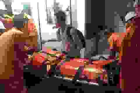 Chạy với tốc độ tối đa để cấp cứu thuyền viên bị bất tỉnh do tai nạn lao động