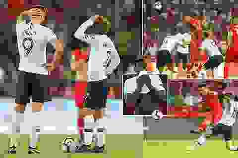 Thổ Nhĩ Kì 2-0 Pháp: Trái đắng cho thầy trò Deschamps