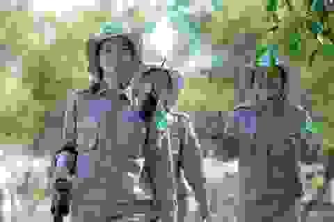 Chân dung đội phá bom mìn toàn nữ tại Quảng Trị trên báo quốc tế