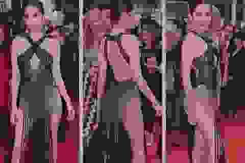 Độc giả phương Tây tiếp tục phản ứng về phục trang của Ngọc Trinh ở Cannes