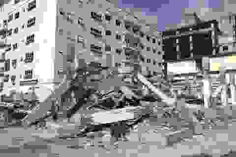 Hà Nội phá dỡ công trình xây sai phép trong khu đô thị ở quận Bắc Từ Liêm