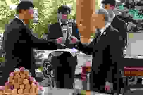 Ông Putin tặng kem cho ông Tập nhân dịp sinh nhật