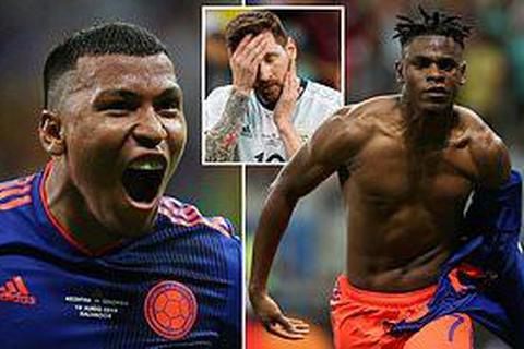 Argentina 0-2 Colombia: Nỗi thất vọng của Messi