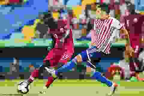 Paraguay 2-2 Qatar: Nhà vô địch châu Á ngược dòng ngoạn mục