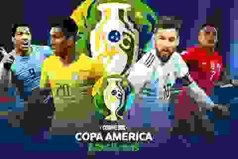Hướng dẫn xem trực tiếp các trận đấu tại Copa America 2019 trên smartphone và máy tính