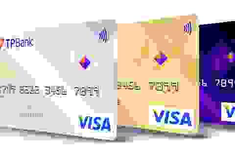 Số lượng thẻ tín dụng của TPBank đang nằm trong nhóm ngân hàng dẫn đầu