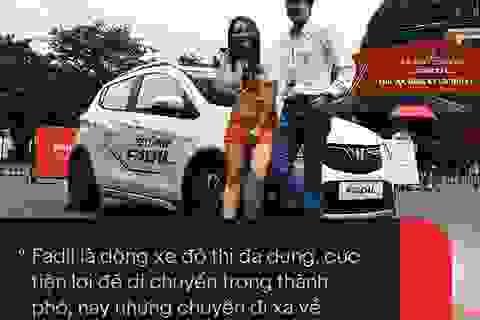 VinFast Fadil 'đốn tim' sao Việt ngay trong lần trải nghiệm đầu tiên