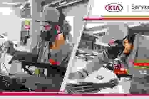 Những lý do nên trải nghiệm dịch vụ tiêu chuẩn toàn cầu tại Kia Việt Nam